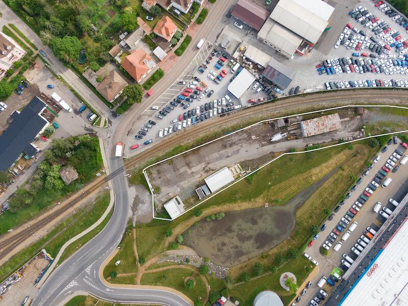 Prodej pozemku 3665 m², Chrášťany uPrahy