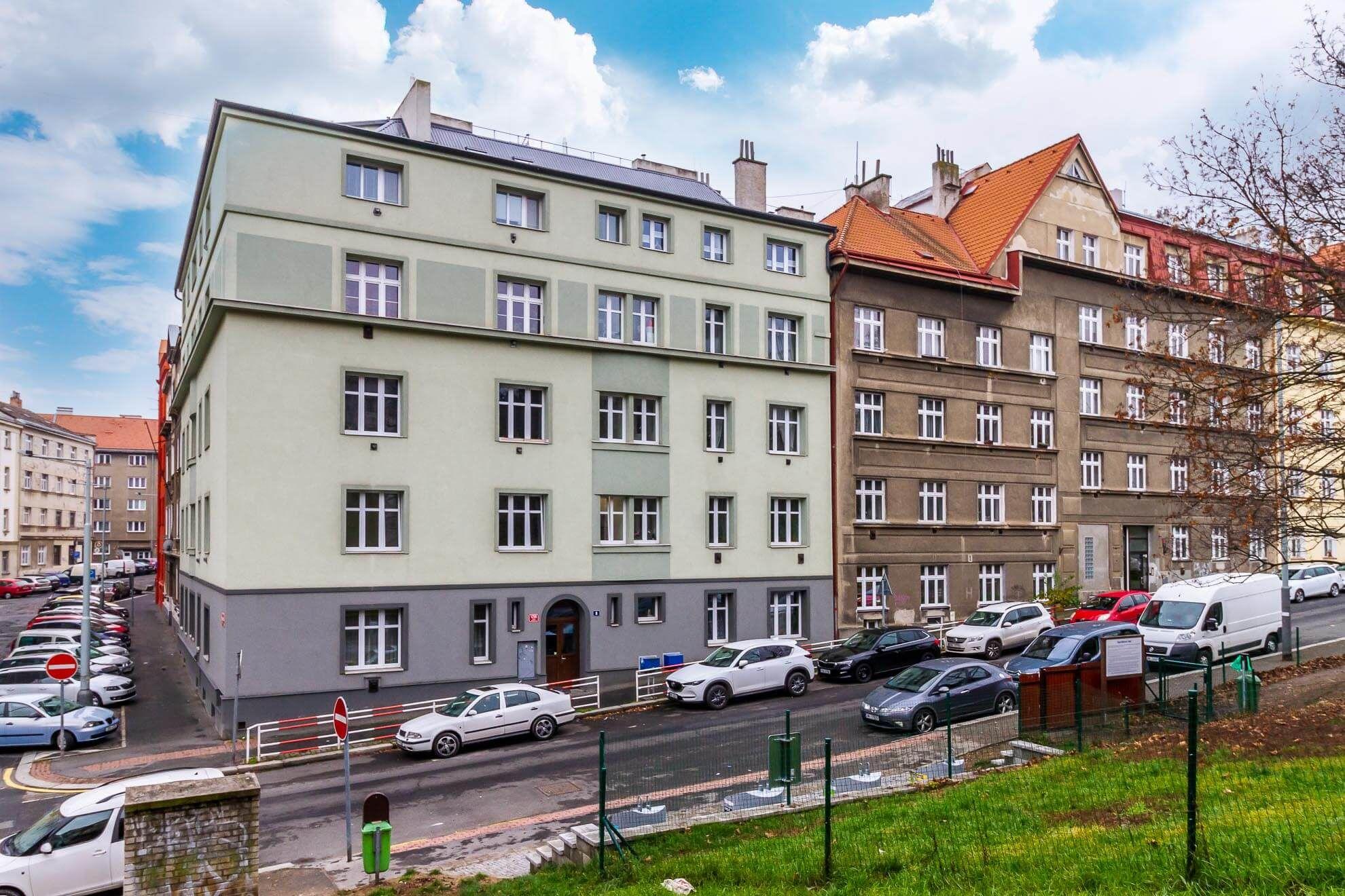 Prodej bytu 2+kk - 49 m², Praha 8 - Libeň
