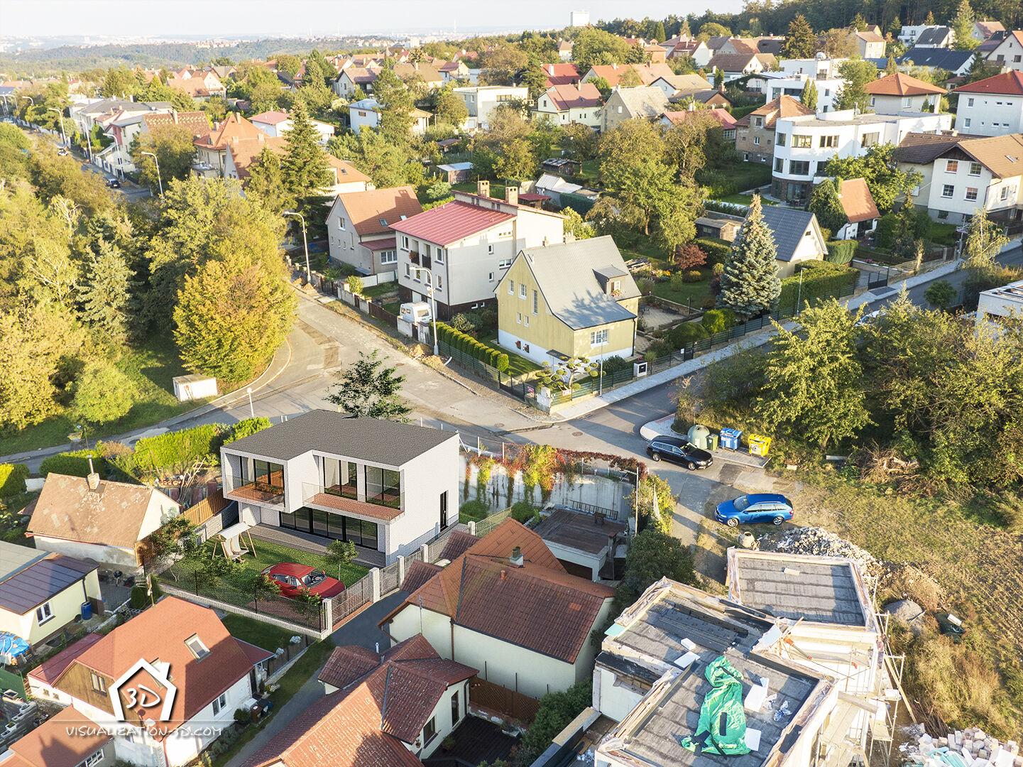 Prodej pozemku 265 m2 vpražských Nebušicích