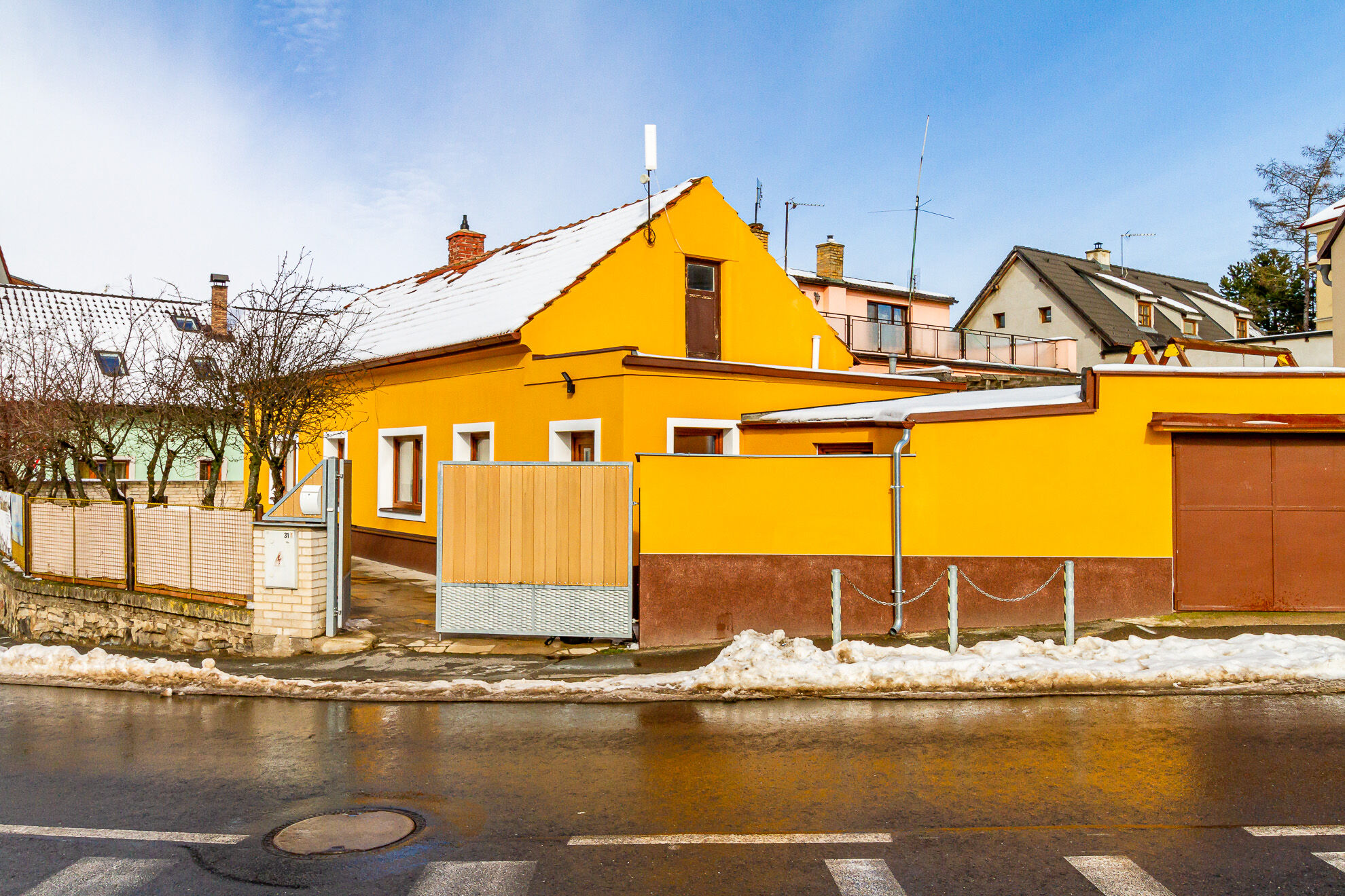 Prodej domu 2+1 (3+1) vJinočanech uPrahy